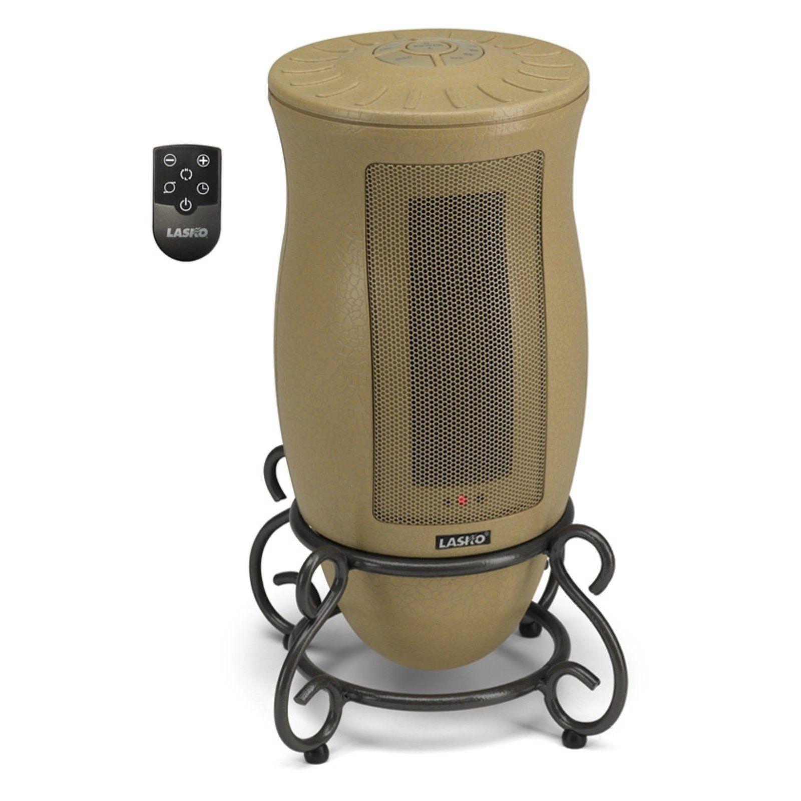 Lasko 6435 Designer Series Oscillating Ceramic Electric Space Heater Space Heater Heater