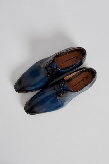 Buty Meskie Derby Granatowe Pauloadriani Pierrecardin Pauloadriani Moda Fashionmen Pierre Cardin Shoes Loafers