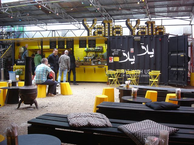 Yalla Yalla's current pop-up is Shoreditch's answer to authentic Beirut street food. #oldstnewfood #oldstnewrules