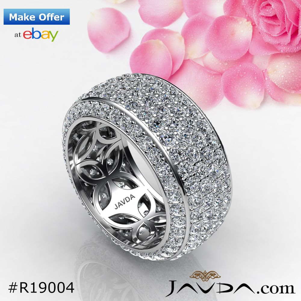 Women's diamond wedding band collection crafted in 14k