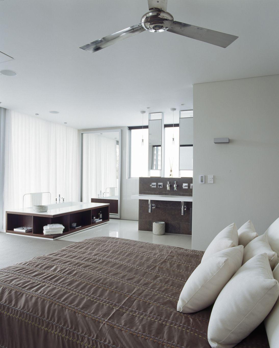 Open Concept Bedroom And Bathroom Ideas New Modern Design