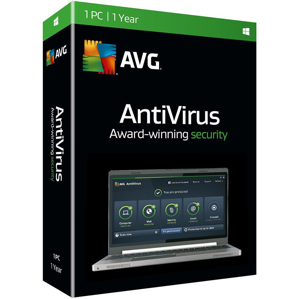 AVG Anti-Virus 2016 16.31.7357 Full, Key Working Till 2018