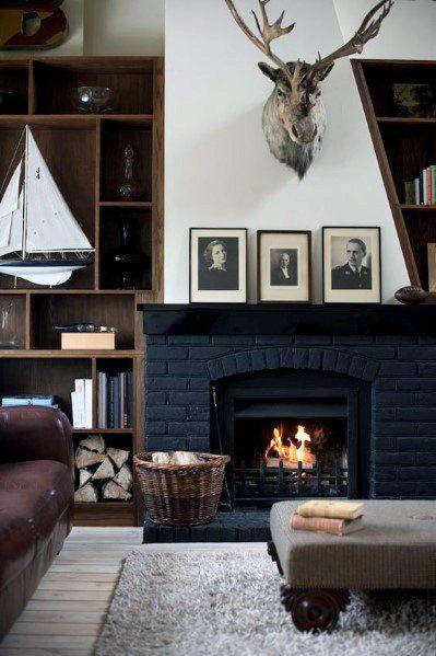 Top best painted fireplace ideas also interior designs home rh pinterest