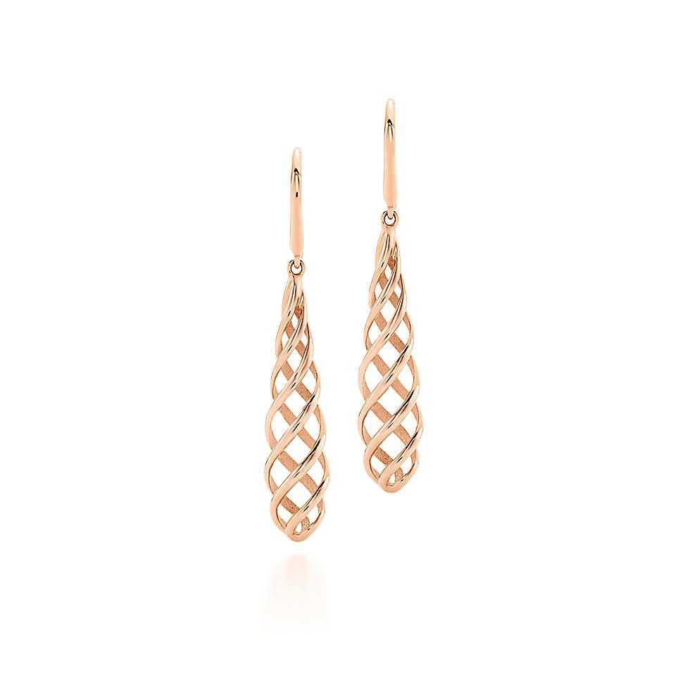 Gold · Paloma's Venezia Luce drop earrings ...