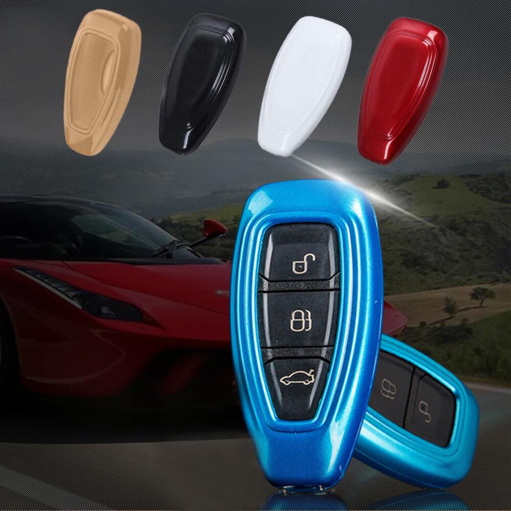 Abs Paint Key Car Keys Cover Box Bag Case For Ford Fiesta Ecosport