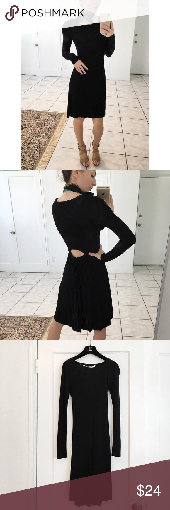 Chic long sleeve cut out dress rachel roy dresses rachel roy and lbd