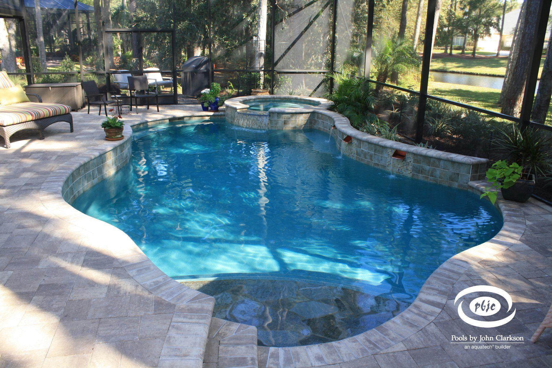 Freeform Swimming Pools In Northeast Florida Pools By John Clarkson Florida Pools Pool Swimming Pools