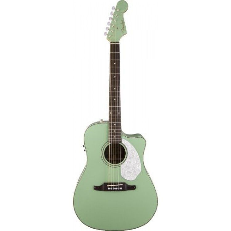Fender Sonoran Sce Surf Green Acoustic Electric Guitar Acoustic Electric Guitar Guitar Acoustic
