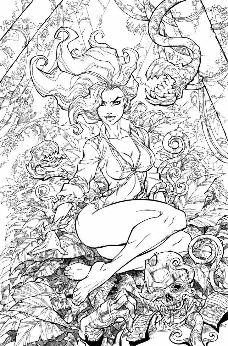 Pin by mitchel balash on Dc comics | Pinterest | Poison ivy, Comic ...