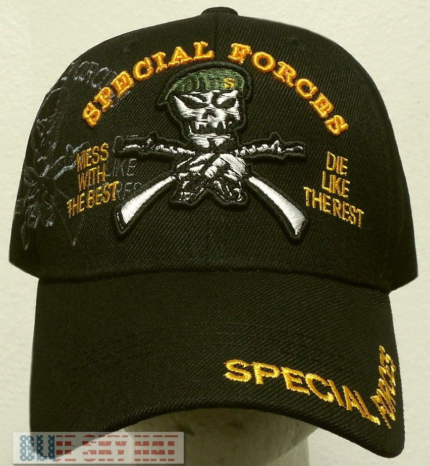 2442efb8617 US ARMY GREEN BERETS SPECIAL FORCES MESS WITH THE BEST DIE LIKE THE REST CAP  HAT  PREMIUMHATS  BaseballCap