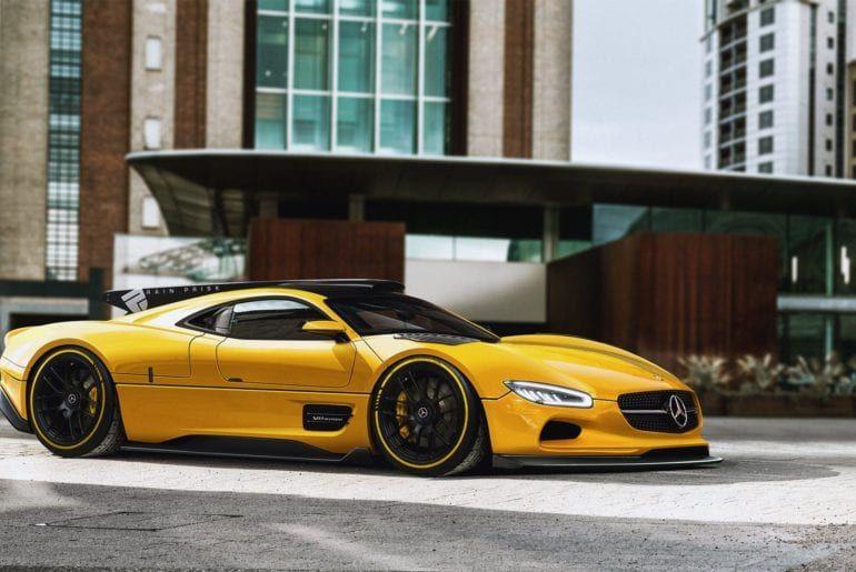 What A Modern Mercedes Benz Clk Gtr Would Look Like Https Www Carid Com Scheck