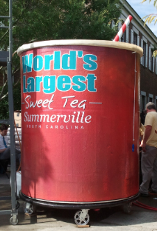 Southern Life World's Largest Glass of Sweet Tea South