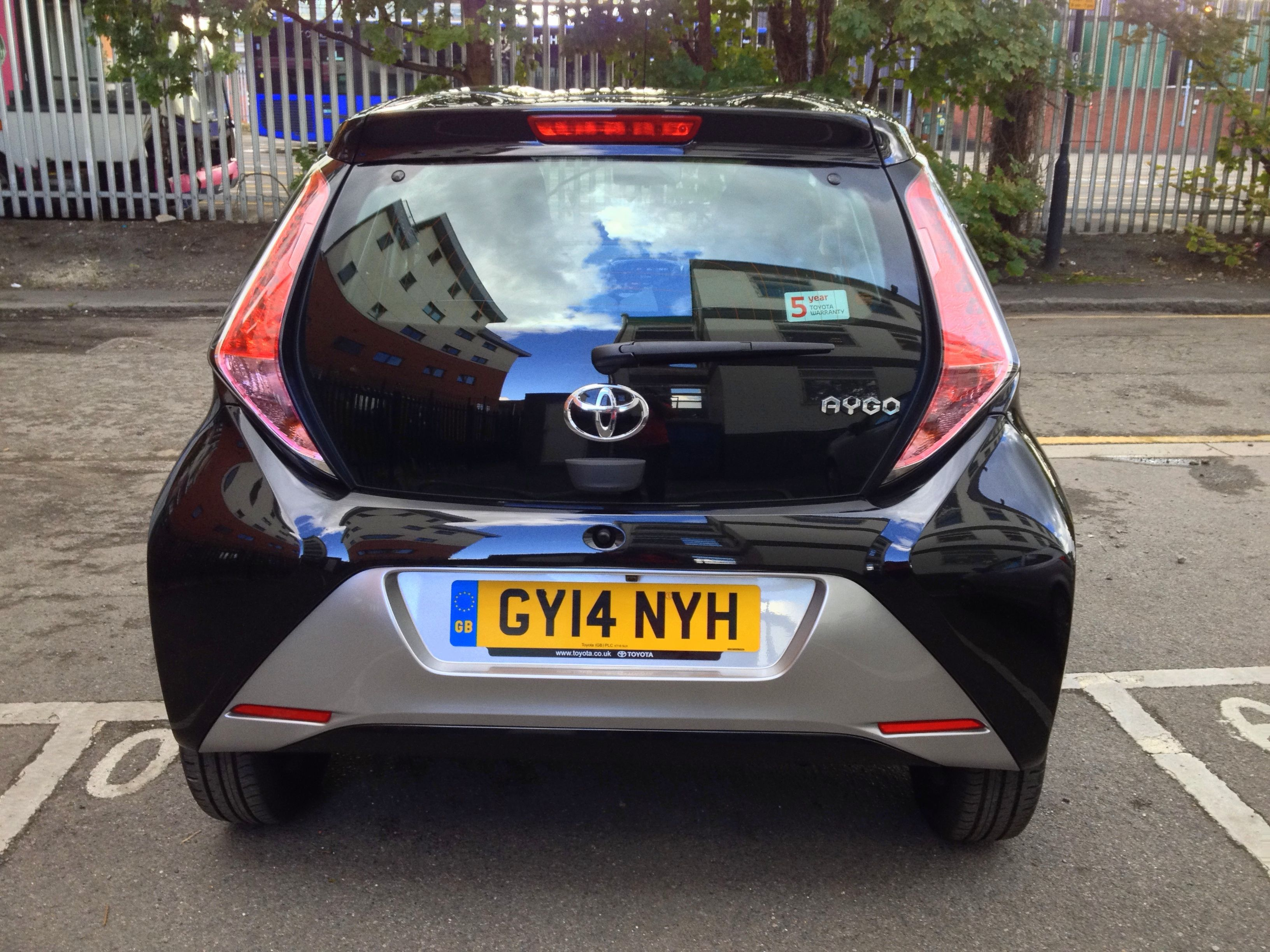 Toyota Aygo In Black Colour Toyota Aygo Black Sports Car