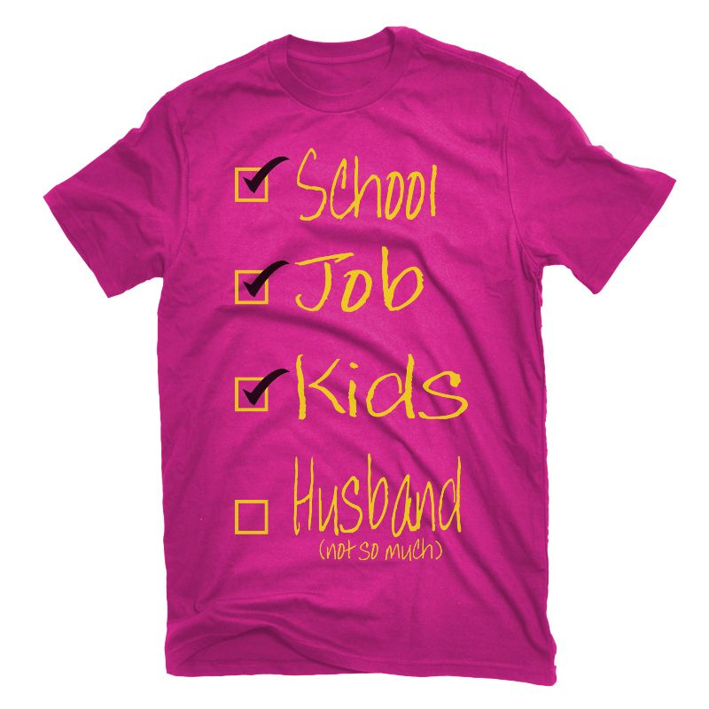 A married women's checklist!