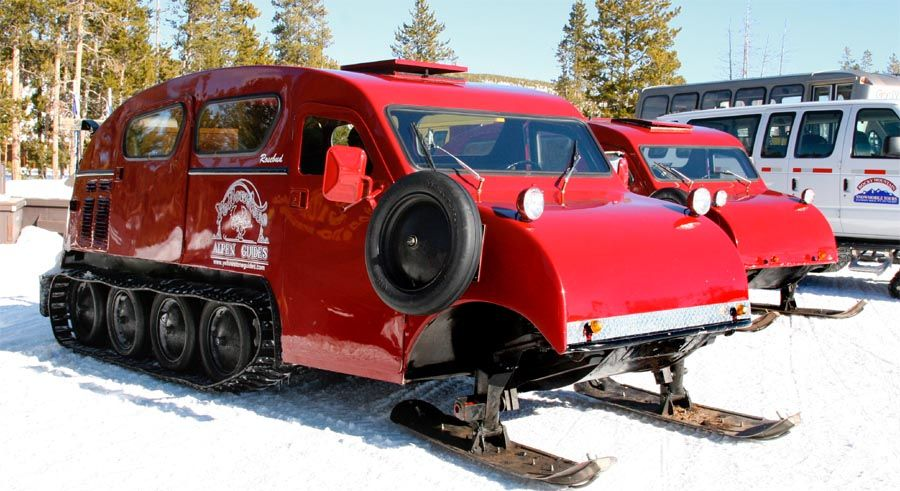 Bombardiers snow bus was made for many years but this
