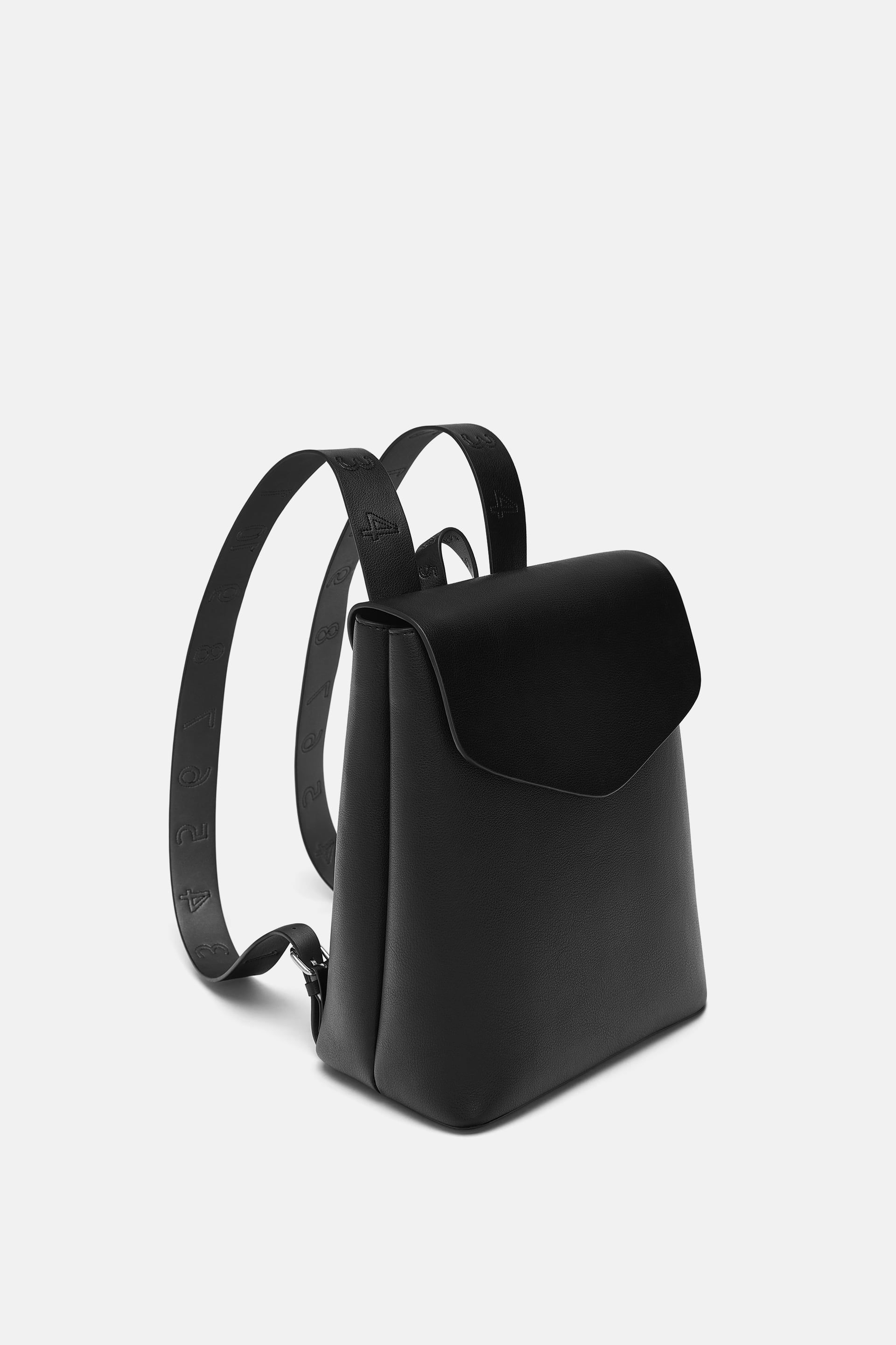 900d99eaf1 Image 1 of TOPSTITCHED BACKPACK from Zara