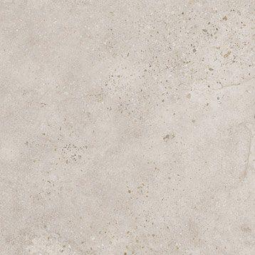 Carrelage sol blanc effet b ton liverpool x cm en 2019 carrelage ext rieur - Texture carrelage blanc ...