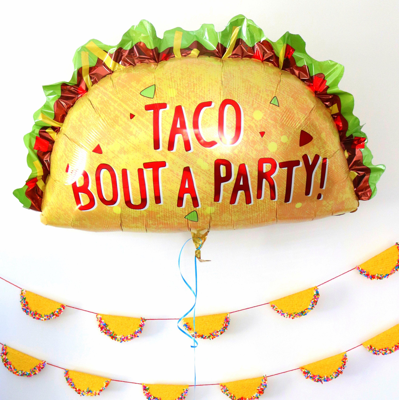 Jumbo Taco Party Balloon