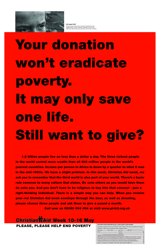 Christian Aid Red Only One Life Cdd 01 In 2020 One Life Poor Countries Poverty