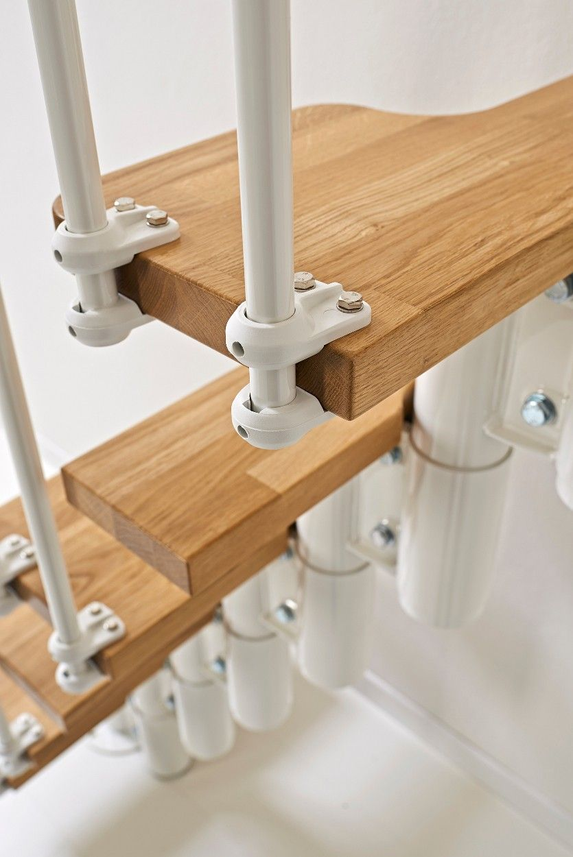 Best Fontanot Oak 30 Space Saving Stair Kit From £835 00 640 x 480