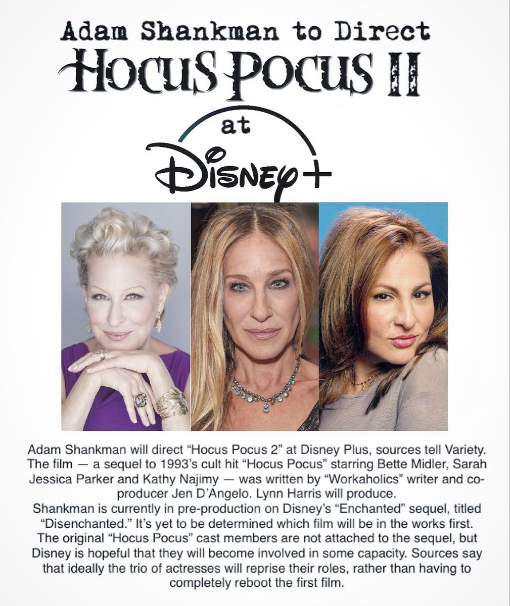 Posted March 4 2020 In 2020 Kathy Najimy Disney Plus Bette Midler
