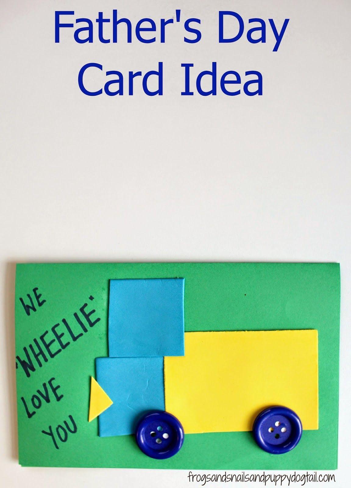 Father S Day Card Idea