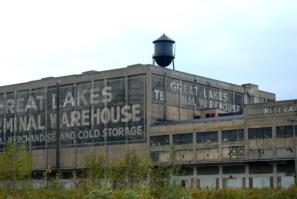 Great Lakes Terminal Warehouse Toledo Oh Toledo Ohio Abandoned Ohio Great Lakes