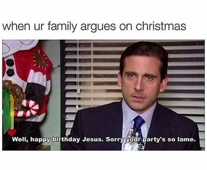 Well Happy Birthday Jesus Sorry Your Party S So Lame Happy Birthday Jesus Memes Christmas Humor