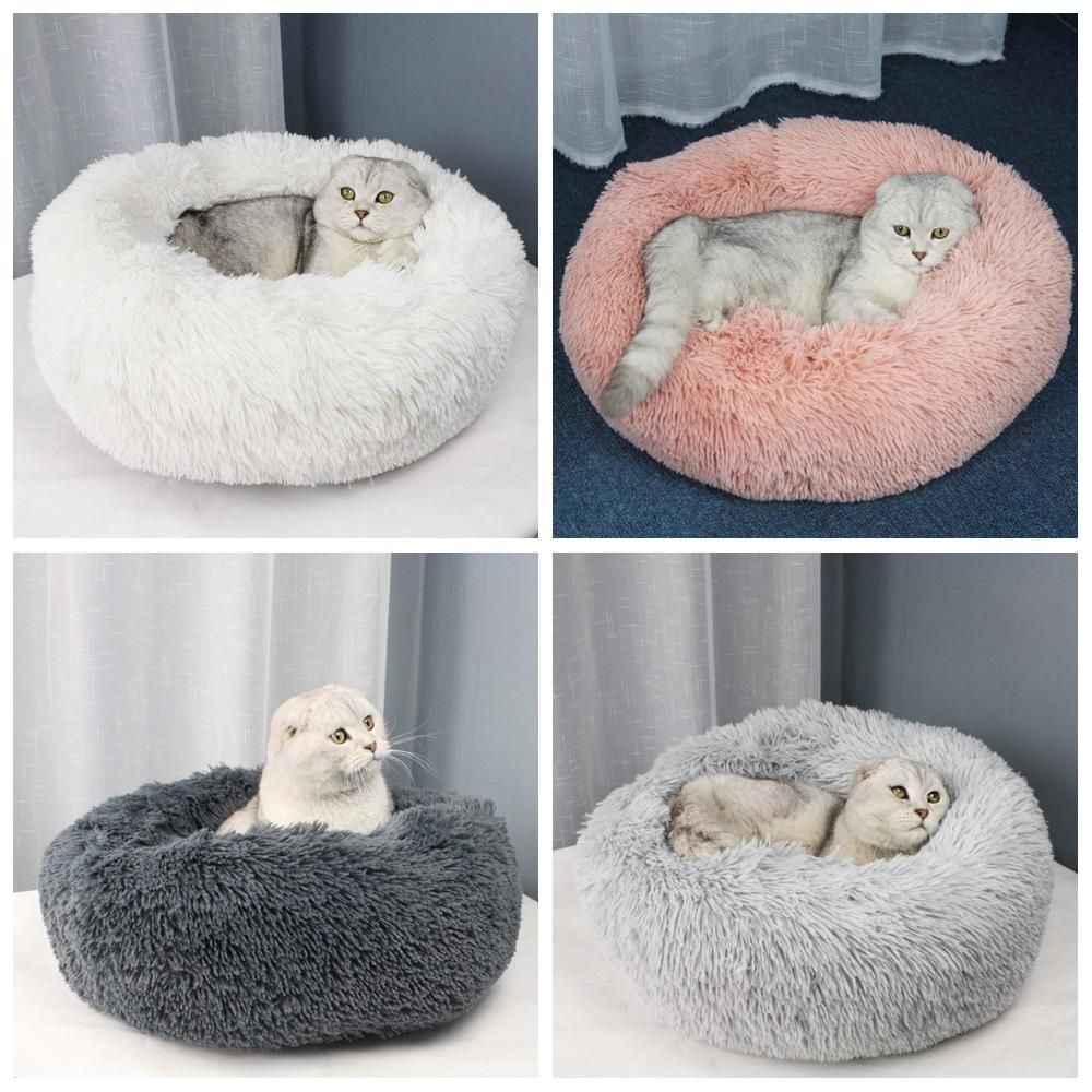 Fleecy Donut Calming Bed Cat bed, Dog mattresses, Cool