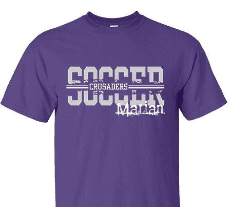 c5e0c4a6d High School Impressions SOC-015-W Custom Soccer Tees - Create your own  design for t-shirts, hoodies, sweatshirts. Choose your Text, Ink and  Garment Colors