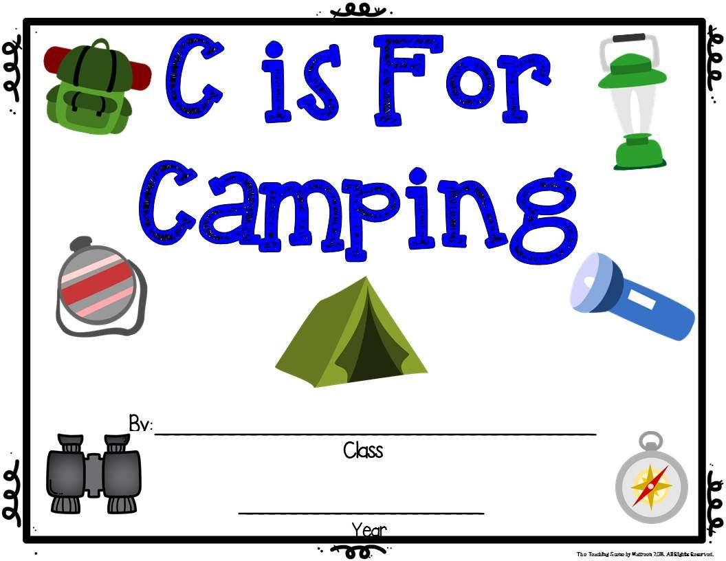 August Literacy Unit S Is For S Mores Amp A Camping Spree