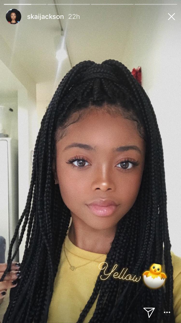 Braided Hairstyles Pinterest Black Girl Back To School Braid Hairstyles Braided Hairstyles Long Hair W In 2020 Braids Rastazopfe Frisuren Rastazopfe Frisuren Beauty