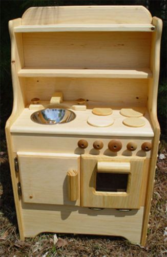 Solid Wood Toy Kitchen Couch Liams Handmade In Usa Play Ebay