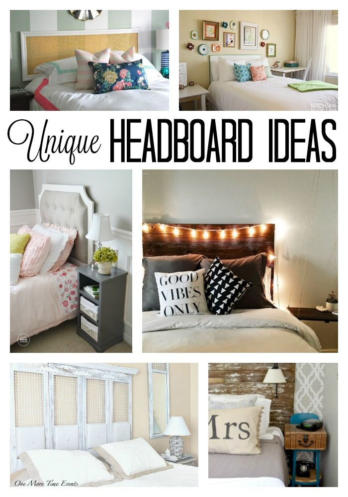 10 Unique Headboard Ideas for Your Bedroom DIY ideas, Budgeting
