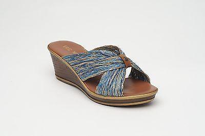 NEW Eric Michael 'Galina' copper sandal 41B $92