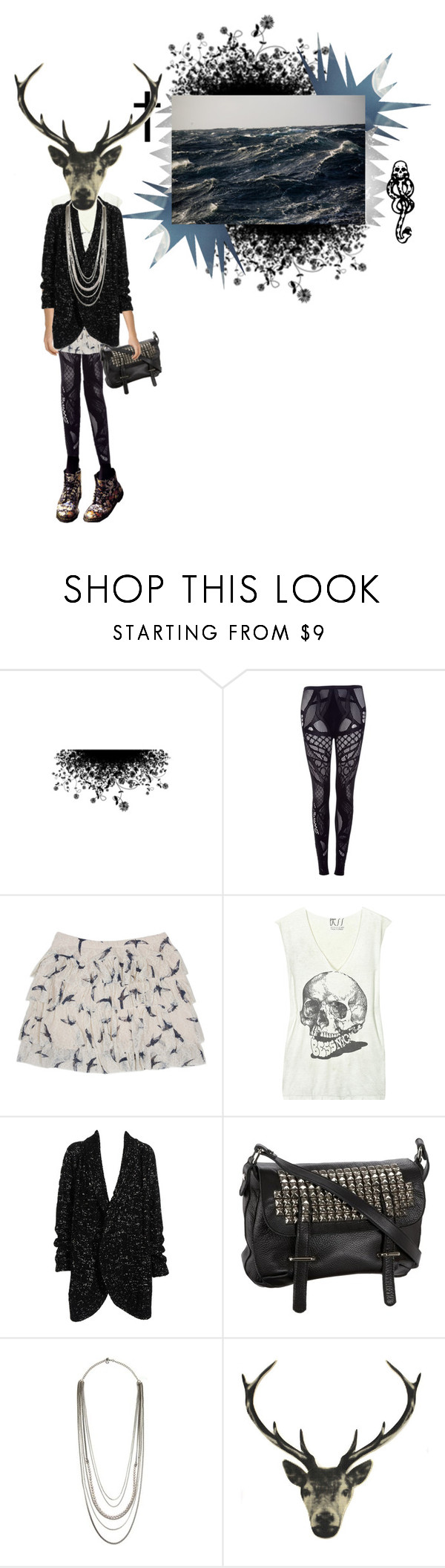 """I want legs as skinny as bambi's"" by rosa-loves-skittles ❤ liked on Polyvore featuring Alexander McQueen, mark., Bess, Clare Tough, Tylie Malibu and PENNY LEVI"