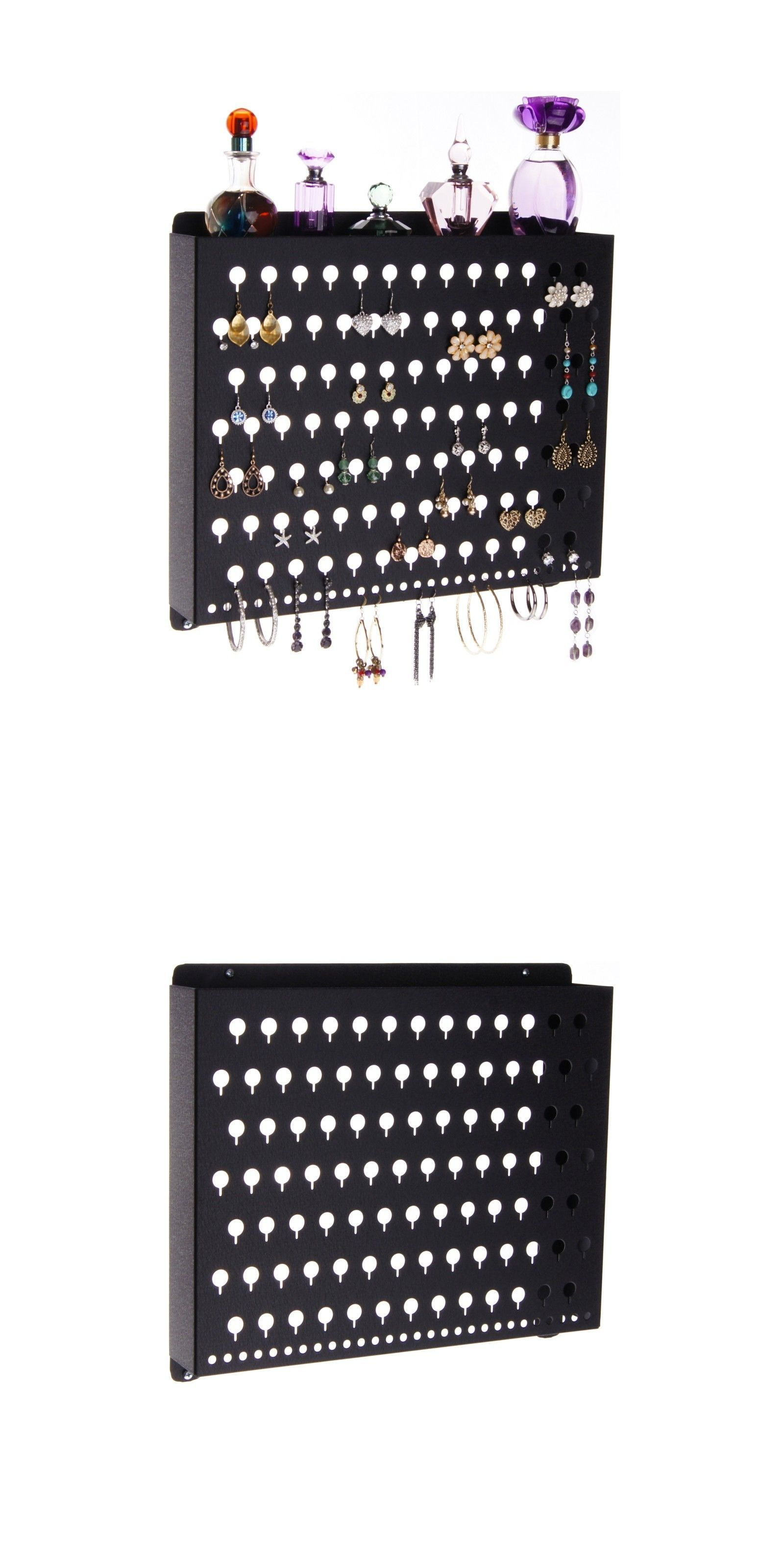Earring 168161 Earring Holder Wall Mount Jewelry Organizer Hanging