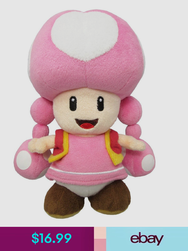 "SAN-EI 1450 Toadette Plush 8/"" BRAND NEW WITH TAGS"
