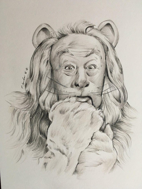 Cowardly Lion Drawing Wizard Of Oz By Billyboyuk On Deviantart