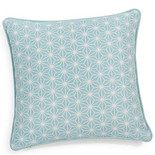Fodera Di Cuscino Blu In Cotone 40 X 40 Cm Ivy | 5. Png Home