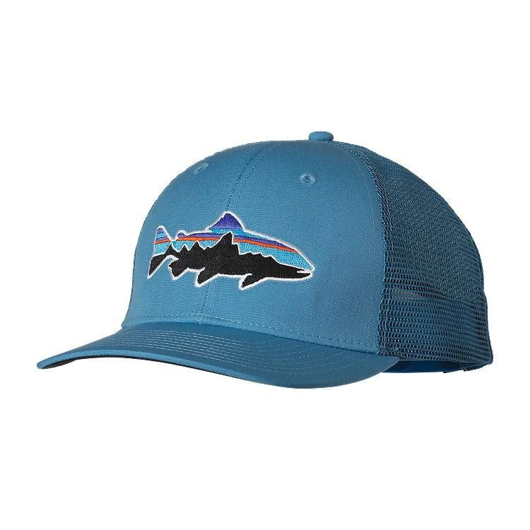 2563a5961d5e9 Patagonia Fitz Roy Trout Trucker Hat - Catalyst Blue CTYB