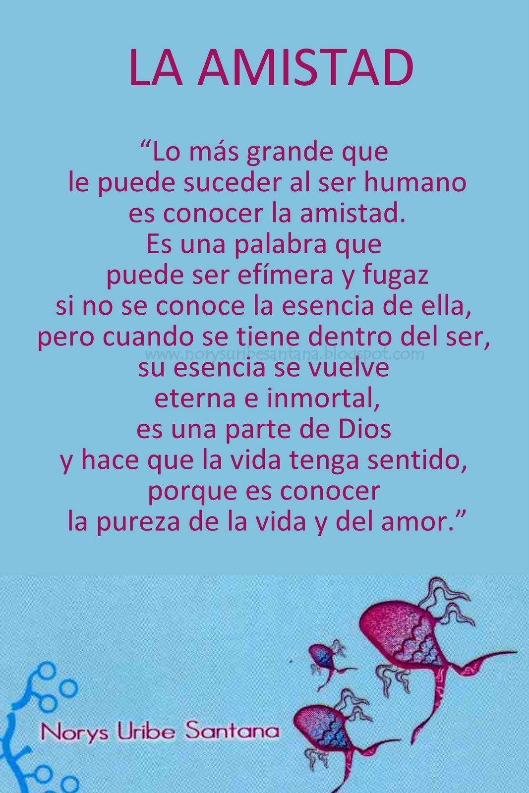 Norys Uribe Santana Reflexiones De Vida Nº 9 La Amistad