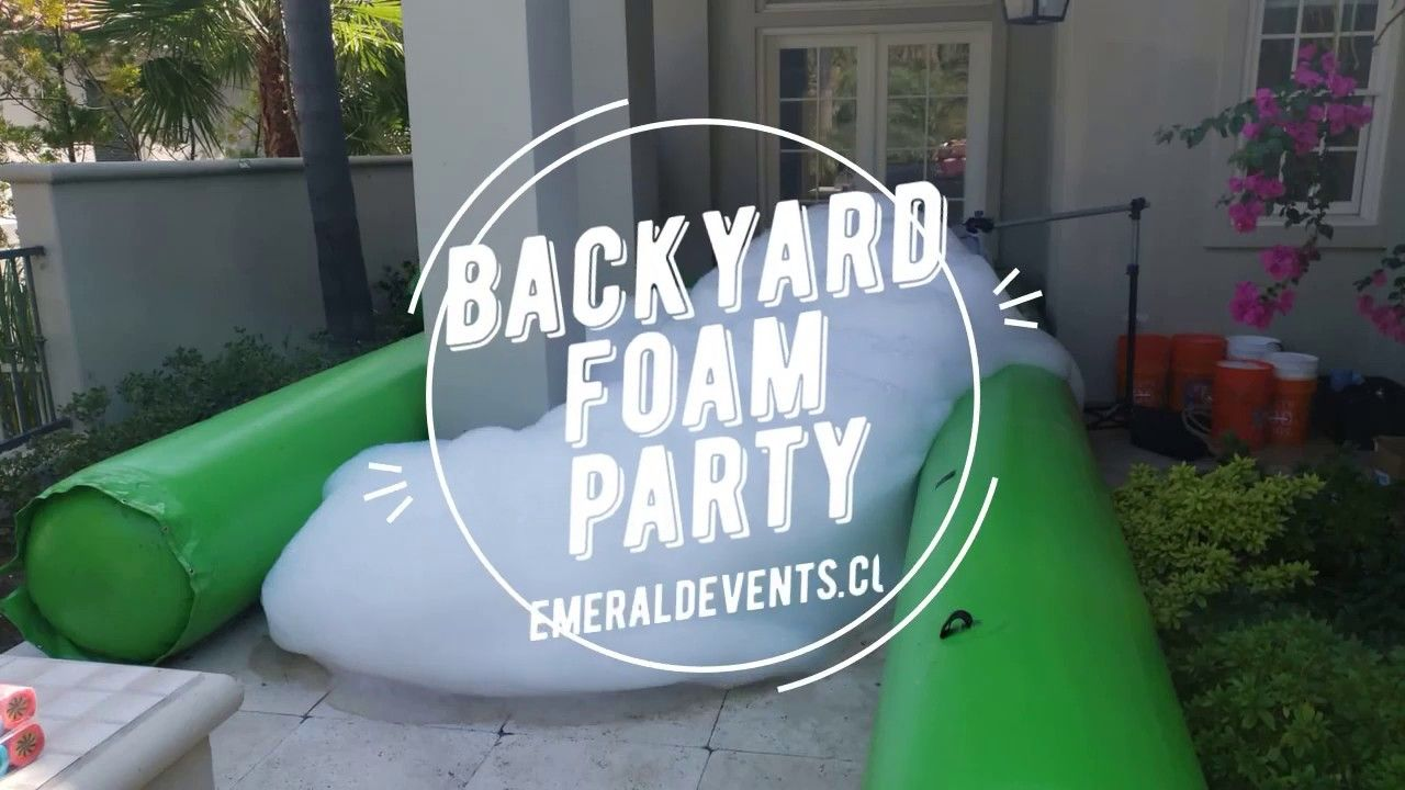 No more boring parties liven up the party with a backyard
