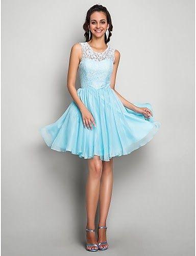 Bonito vestido de fiesta