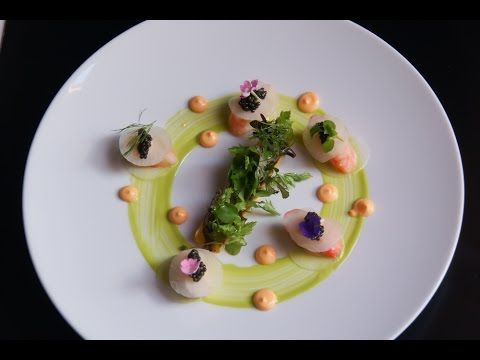 18 Alasca King Crab Caviar Dish From 2 Michelin Chef Jean