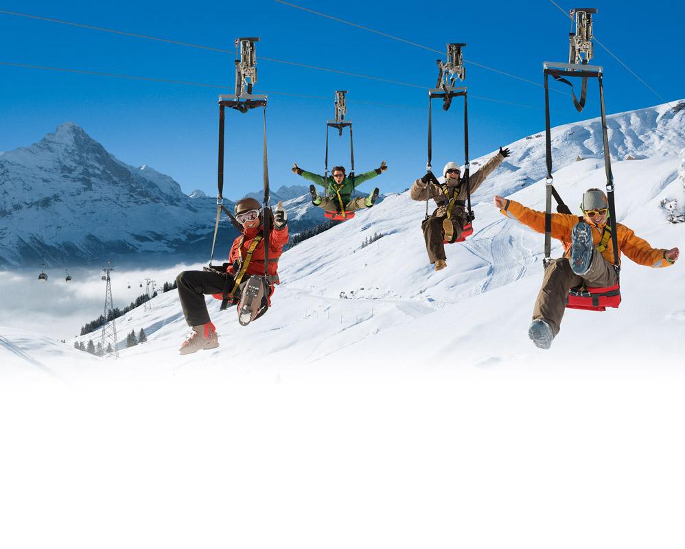 Jungfrau - ZIPLINING