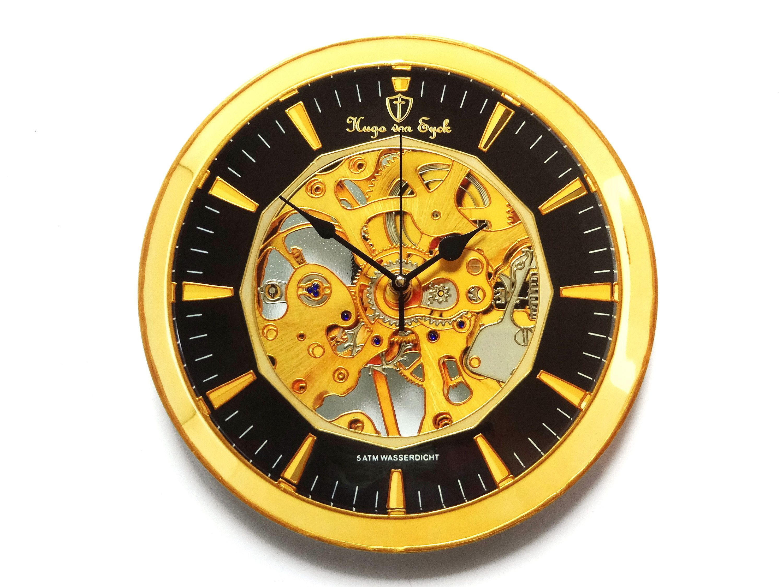 Steampunk Wall Clock, Wedding Gift, Gear Wall Clock, Industrial ...