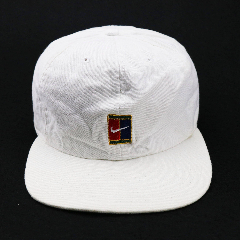 Vintage Nike Supreme Court Cap 90s Tennis Challenge Sports By Hitzshop On Etsy Vintage Nike Nike Cap Cap