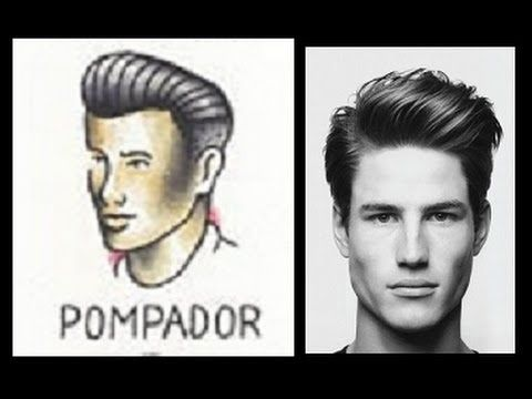 Menu0027s Tutorial: Classic And Modern Pompadour · Lock StyleMy StyleHairstyles  ...