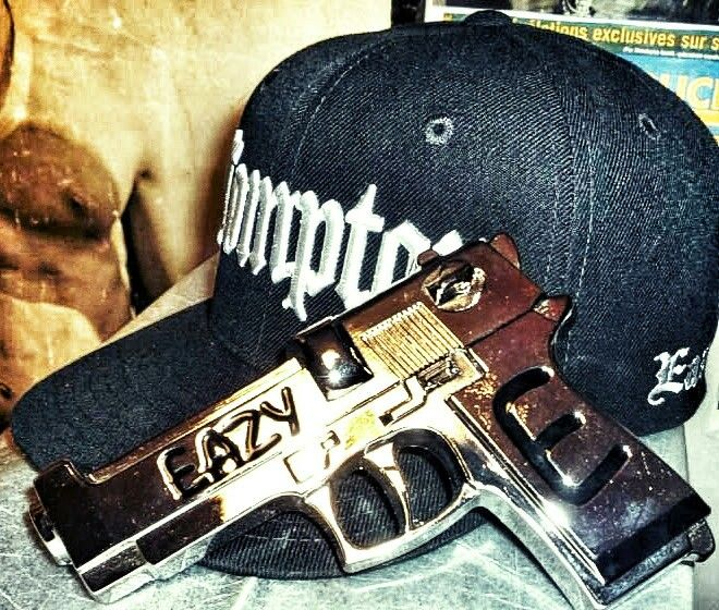Eazy E Sox Hat: Not Real Gun If Anyone Think S It Is Eazy E Ultimate Belt